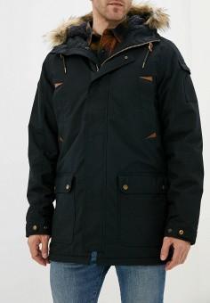 Куртка утепленная, Quiksilver, цвет: черный. Артикул: QU192EMFZPG4. Одежда / Верхняя одежда / Пуховики и зимние куртки / Зимние куртки