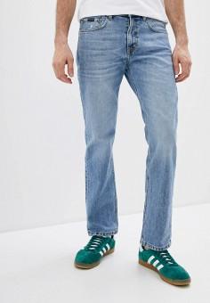 Джинсы, Quiksilver, цвет: голубой. Артикул: QU192EMIJIE0. Одежда / Джинсы / Прямые джинсы
