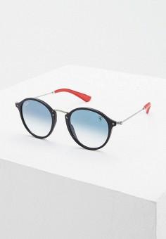 Очки солнцезащитные, Ray-Ban?, цвет: черный. Артикул: RA014DUFTUK7. Аксессуары