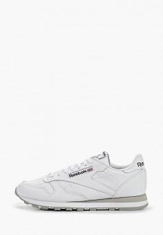Кроссовки, Reebok Classic, цвет: белый. Артикул: RE005AMBJX37. Обувь / Кроссовки и кеды