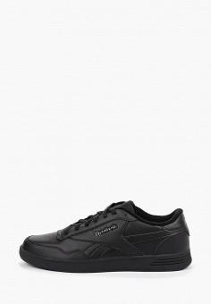 Кеды, Reebok Classic, цвет: черный. Артикул: RE005AMFXDY6. Обувь