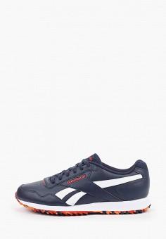 Кроссовки, Reebok Classic, цвет: синий. Артикул: RE005AMHWCS5. Обувь / Кроссовки и кеды