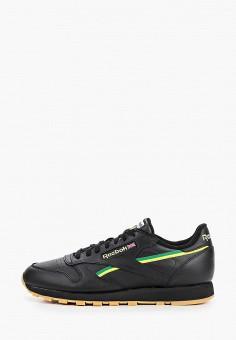 Кроссовки, Reebok Classic, цвет: черный. Артикул: RE005AMHWDM2.