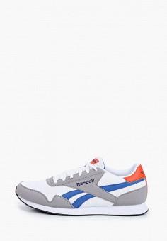 Кроссовки, Reebok Classic, цвет: серый. Артикул: RE005AMJBMT2.
