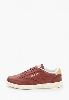 Кеды, Reebok Classic, цвет: коричневый. Артикул: RE005AMJMER0. Обувь / Кроссовки и кеды / Кеды