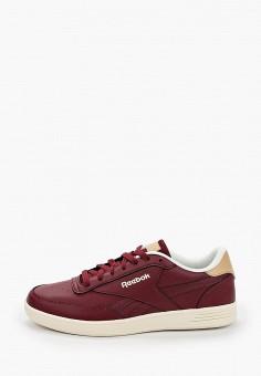 Кеды, Reebok Classic, цвет: бордовый. Артикул: RE005AMJMER8. Обувь