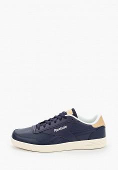 Кеды, Reebok Classic, цвет: синий. Артикул: RE005AMJMET1. Обувь / Кроссовки и кеды / Кеды