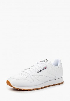 Кроссовки, Reebok Classic, цвет: белый. Артикул: RE005AMLWX71. Обувь / Кроссовки и кеды / Кроссовки / Низкие кроссовки