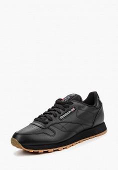 Кроссовки, Reebok Classic, цвет: черный. Артикул: RE005AMNSA54.