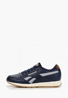 Кроссовки, Reebok Classic, цвет: синий. Артикул: RE005AUFKFA8. Обувь