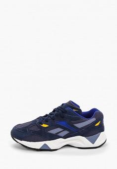 Кроссовки, Reebok Classic, цвет: синий. Артикул: RE005AUFKFA9.