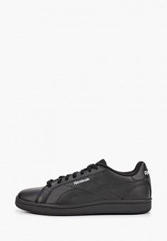 Кеды, Reebok Classic, цвет: черный. Артикул: RE005AUJMFB0. Обувь / Кроссовки и кеды / Кеды
