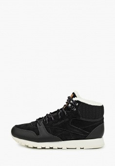 Кроссовки, Reebok Classic, цвет: черный. Артикул: RE005AWFKWB7. Обувь