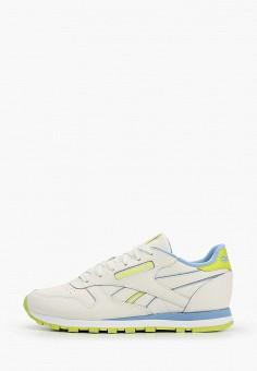 Кроссовки, Reebok Classic, цвет: белый. Артикул: RE005AWHWDB2. Обувь / Кроссовки и кеды