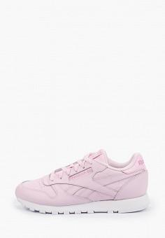 Кроссовки, Reebok Classic, цвет: розовый. Артикул: RE005AWHWDE9. Обувь / Кроссовки и кеды