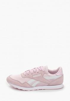 Кроссовки, Reebok Classic, цвет: розовый. Артикул: RE005AWJBMT8.