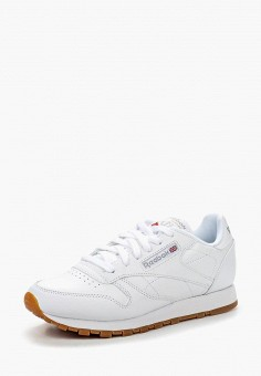 Кроссовки, Reebok Classic, цвет: белый. Артикул: RE005AWLWX97. Обувь / Кроссовки и кеды