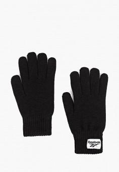 Перчатки, Reebok Classic, цвет: черный. Артикул: RE005DUFKDC5. Аксессуары / Перчатки и варежки