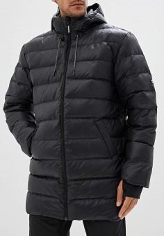 Пуховик, Reebok Classic, цвет: черный. Артикул: RE005EMFKDG0. Одежда / Верхняя одежда / Пуховики и зимние куртки