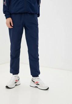 Брюки спортивные, Reebok Classic, цвет: синий. Артикул: RE005EMHWEC2. Одежда / Брюки / Спортивные брюки