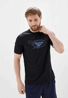 Футболка спортивная, Reebok Classic, цвет: черный. Артикул: RE005EMHWEF2. Одежда / Футболки и поло