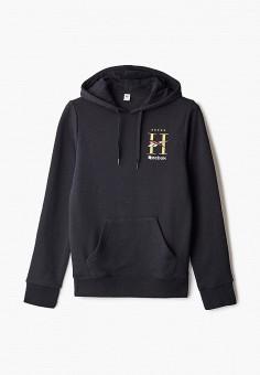 Худи, Reebok Classic, цвет: черный. Артикул: RE005EUJMJZ2. Одежда / Толстовки и свитшоты