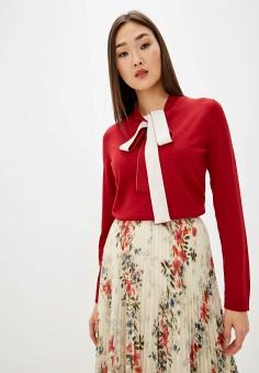 Пуловер, Red Valentino, цвет: красный. Артикул: RE025EWHIRB8. Одежда / Джемперы, свитеры и кардиганы / Джемперы и пуловеры