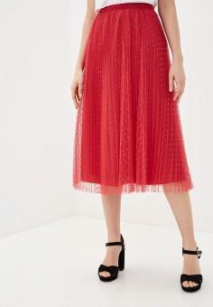 Юбка, Red Valentino, цвет: розовый. Артикул: RE025EWITZI9. Одежда / Юбки
