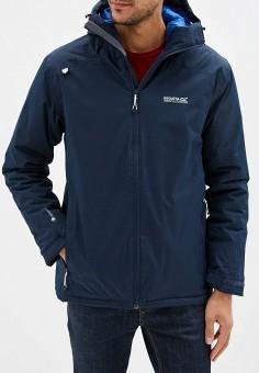 Куртка утепленная, Regatta, цвет: синий. Артикул: RE036EMFQPW2. Одежда / Верхняя одежда / Демисезонные куртки