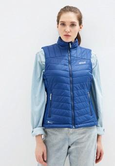 Жилет утепленный, Regatta, цвет: синий. Артикул: RE036EWFQTW5. Одежда / Верхняя одежда / Жилеты