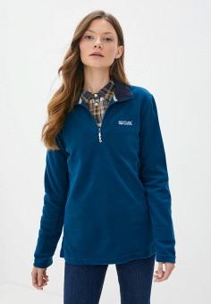 Олимпийка, Regatta, цвет: синий. Артикул: RE036EWKCRA5. Одежда / Толстовки и свитшоты