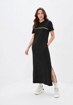 Платье, Rene Santi, цвет: черный. Артикул: RE048EWJRWX6. Одежда / Одежда больших размеров