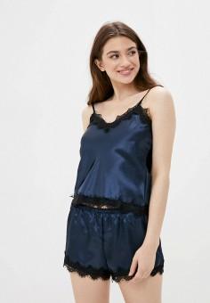 Пижама, Rene Santi, цвет: синий. Артикул: RE048EWKCVX3. Одежда / Домашняя одежда / Пижамы
