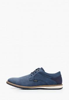 Ботинки, Refresh, цвет: синий. Артикул: RE061AMIVYC1. Обувь / Ботинки / Низкие ботинки