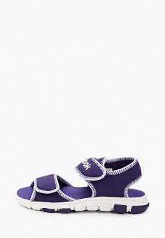 Сандалии, Reebok, цвет: фиолетовый. Артикул: RE160ABIAMC5. Мальчикам / Обувь