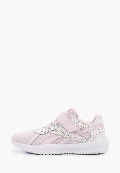 Кроссовки, Reebok, цвет: розовый. Артикул: RE160AGJMIG8.