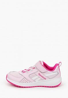 Кроссовки, Reebok, цвет: розовый. Артикул: RE160AGJMIJ4. Девочкам / Спорт
