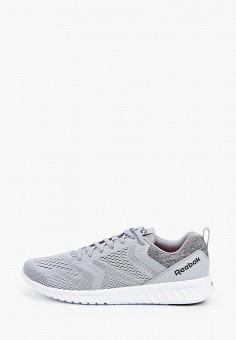 Кроссовки, Reebok, цвет: серый. Артикул: RE160AMHWCE5. Обувь / Кроссовки и кеды