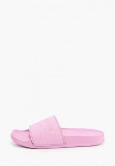 Сланцы, Reebok, цвет: розовый. Артикул: RE160AWHWCN7. Обувь / Резиновая обувь