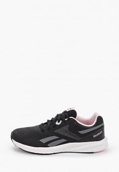 Кроссовки, Reebok, цвет: черный. Артикул: RE160AWIGRO5. Обувь
