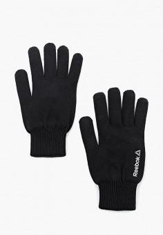 Перчатки, Reebok, цвет: черный. Артикул: RE160DMUOW32. Аксессуары / Перчатки и варежки