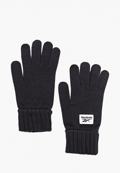 Перчатки, Reebok, цвет: черный. Артикул: RE160DUJMZX9. Аксессуары / Перчатки и варежки