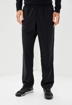 Брюки спортивные, Reebok, цвет: черный. Артикул: RE160EMCDMC3. Одежда / Брюки / Спортивные брюки