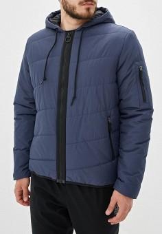 Куртка утепленная, Reebok, цвет: синий. Артикул: RE160EMFKLF1.