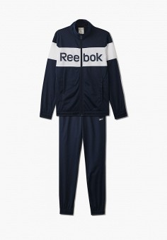 Костюм спортивный, Reebok, цвет: синий. Артикул: RE160EMHWFG0.