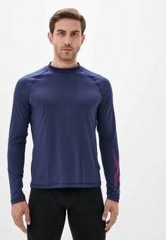 Термобелье верх, Reebok, цвет: синий. Артикул: RE160EMJMCX0. Одежда / Термобелье