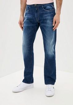 Джинсы, Replay, цвет: синий. Артикул: RE770EMJBAX4. Одежда / Джинсы / Прямые джинсы