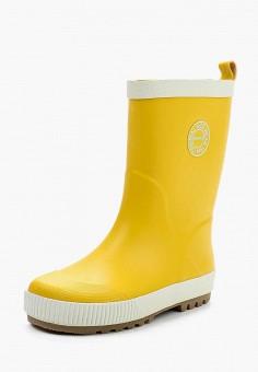 Резиновые сапоги, Reima, цвет: желтый. Артикул: RE883AKUPY93.