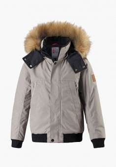 Куртка утепленная, Reima, цвет: серый. Артикул: RE883EBFYGQ7.