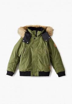 Куртка утепленная, Reima, цвет: хаки. Артикул: RE883EBFYGR0. Мальчикам / Одежда / Верхняя одежда